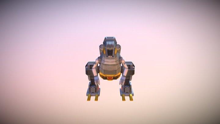 Grimlock 3D Model