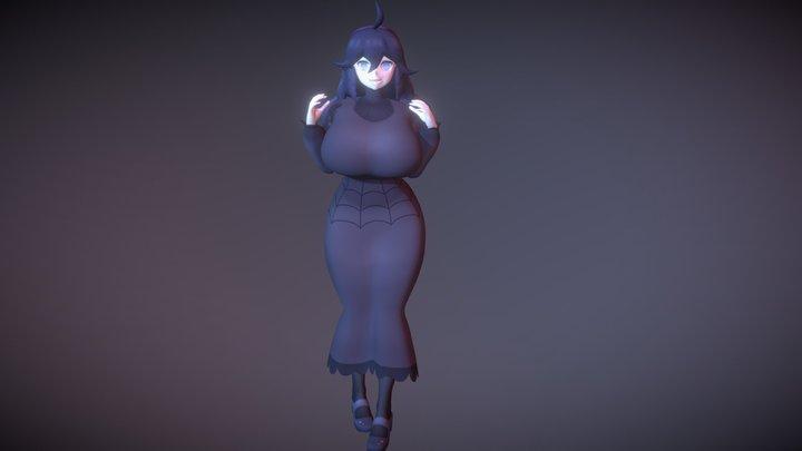 Hex Maniac got big! 3D Model