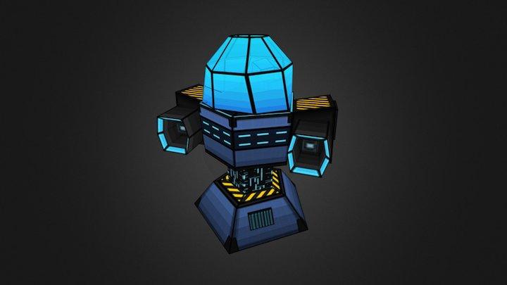 normal_turret_lvl3 3D Model
