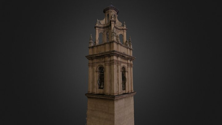 Torre Iglesia de Chulilla 3D Model