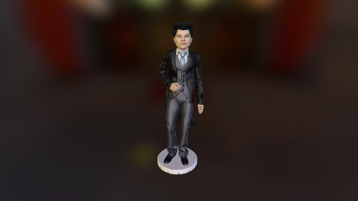 MagicKiosk - Male Tuxedo 3D Model