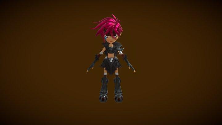 Adicia The Injustice 3D Model