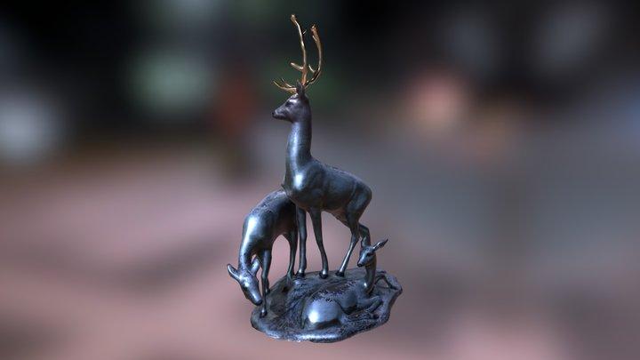 Deers 3D Model