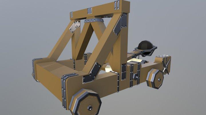 Mangonel - Siege Equipment Assets 3D Model