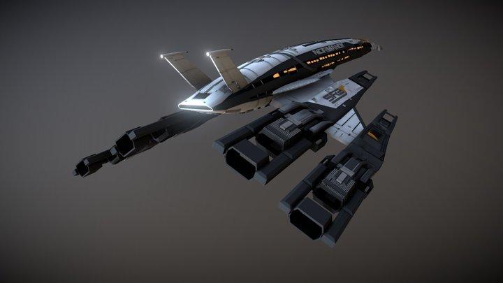 Normandy SR2 3D Model