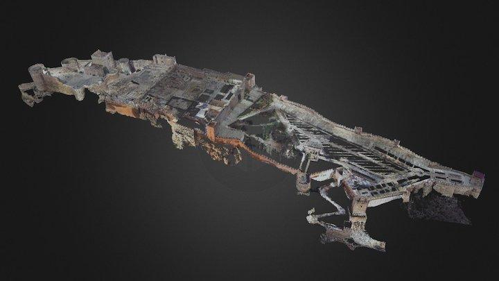 Alcazaba de Almería 3D Model