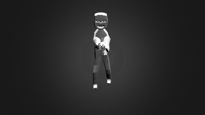 Boneco 3D Model