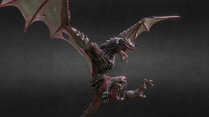 Dragon for wacom 3D Model