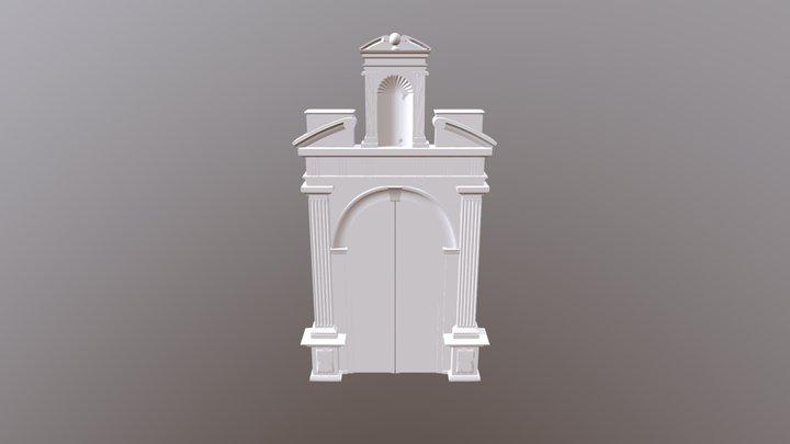 Portada San Miguel 3D Model