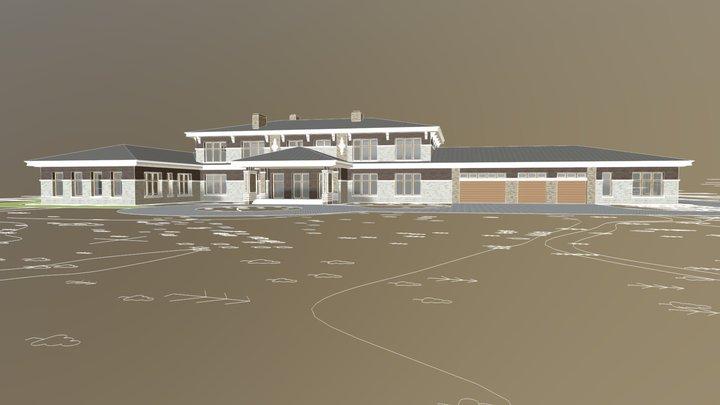 Поселок Брав 3D Model