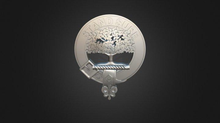 Clan Anderson Crest 3D Model