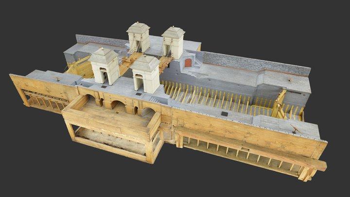 Lock (water navigation) TM2027 3D Model