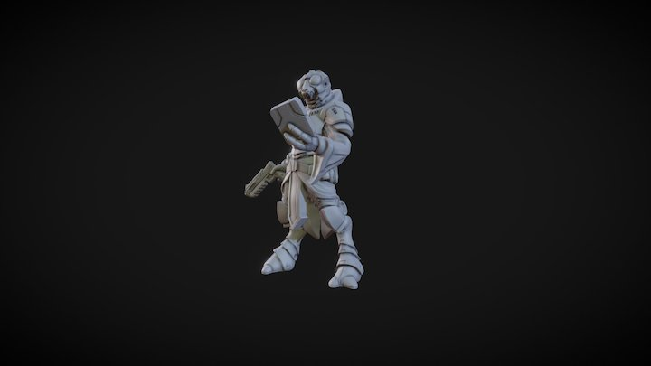 Shirren 3D Model