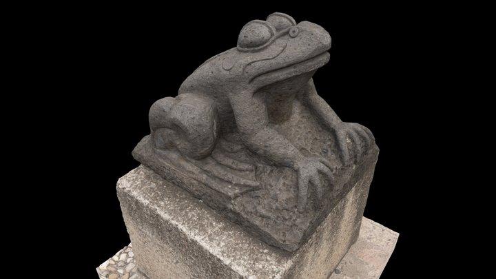 Guanajuato Frog 2 3D Model