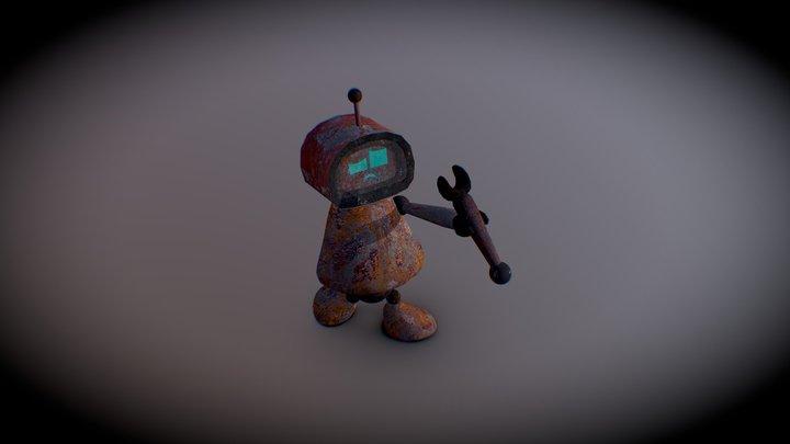 old Robot #CuteRobotChallenge 3D Model