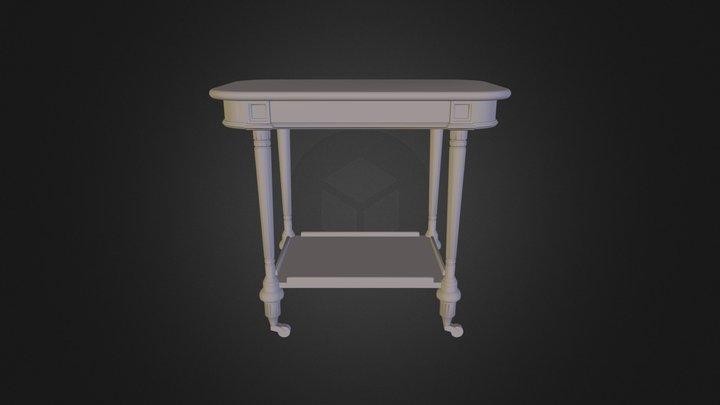 Diivanilaud 3D Model