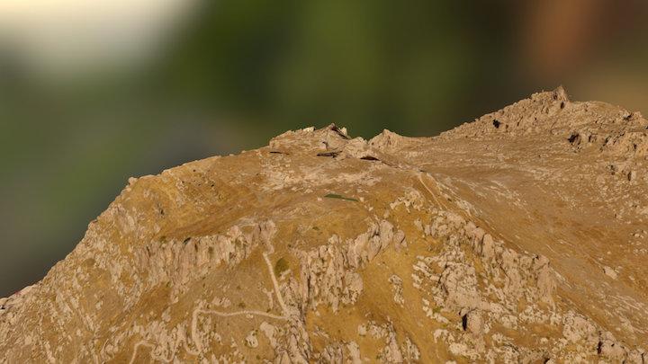 Akre Citadel high resolution 3D Model