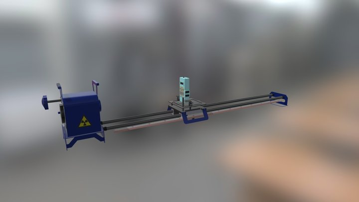 Installation for verification of dosimeters 3D Model