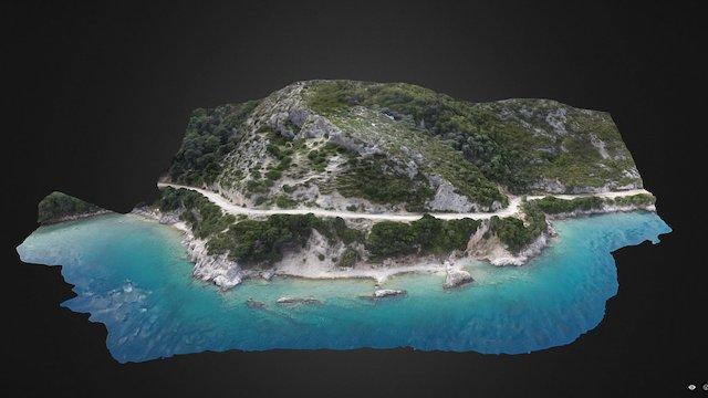 Oricum 2016 - Ancient quarries (ALBANIA) 3D Model