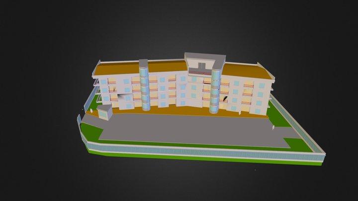 ACAD-CAMPUS 2000 3D.3ds 3D Model