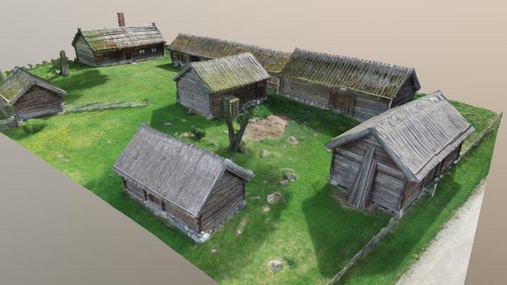 Kvekgården 3D Model