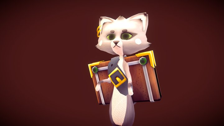 Catson 3D Model