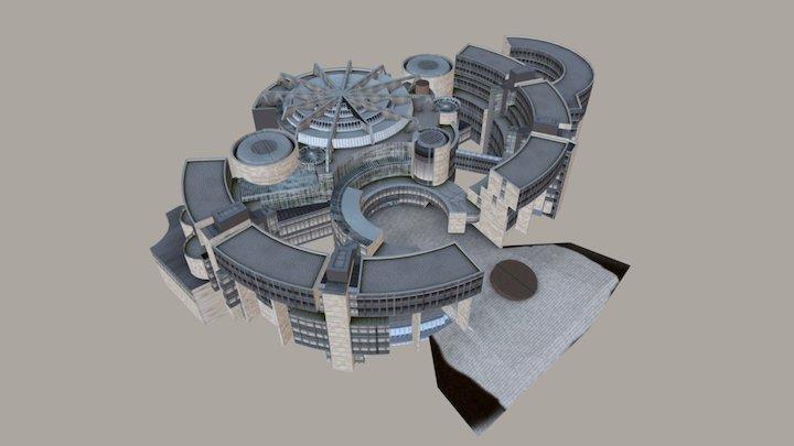 Landtag NRW 3D Model