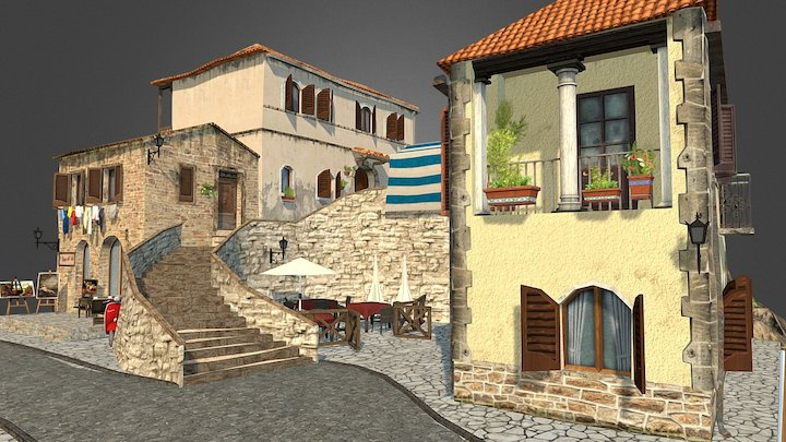 CityScene by Rocío Barrero 3D Model