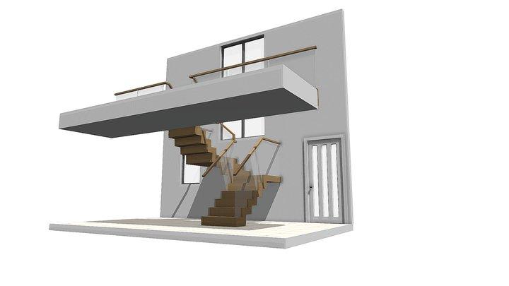 M Torrance Revised Staircase Design 3D Model