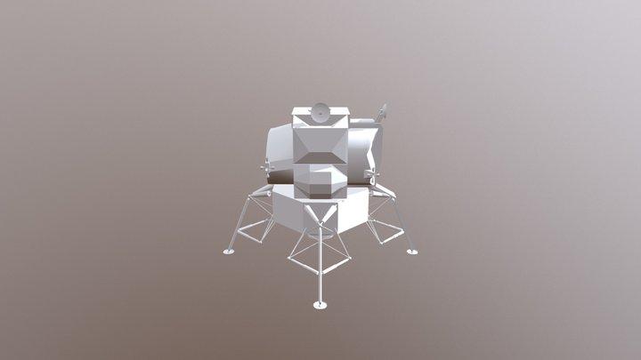 Lunar Lander - Test Version 3D Model