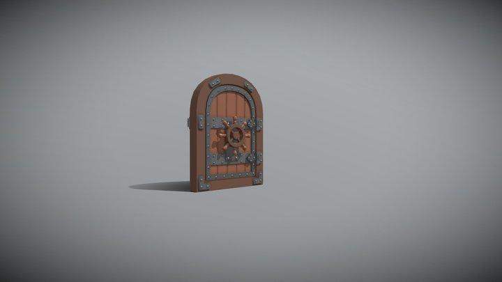 XYZ. DraftPunk. Lesson 7. Draft object mechanics 3D Model