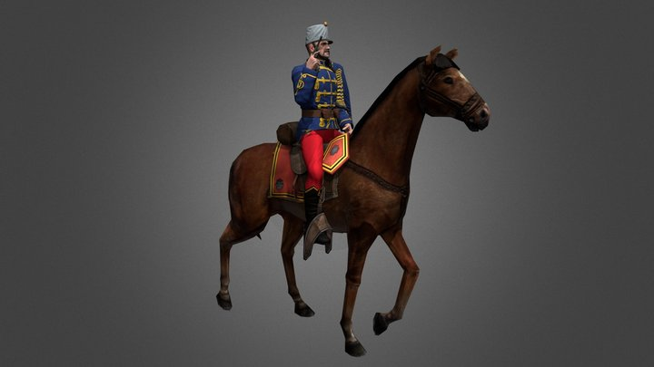 Light Cavalry 3D Model