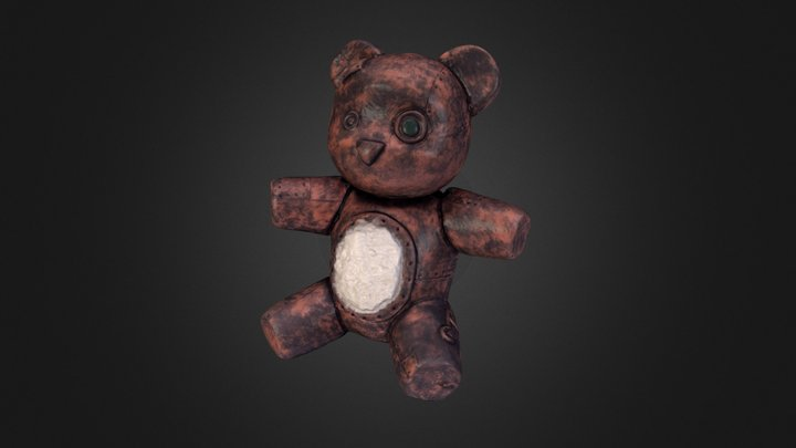 Teddy Bare 3D Scan 3D Model