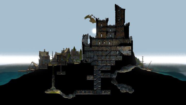 Dragon Capture Nomad Squad 3D Model
