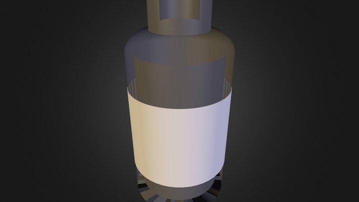pill bottle 2 3D Model