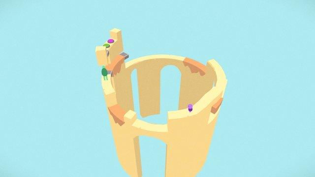 Huge & Cute: Level 4 3D Model