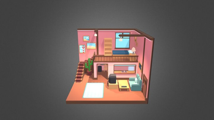 Mika's House 3D Model