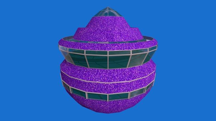 Purple Pod 3D Model