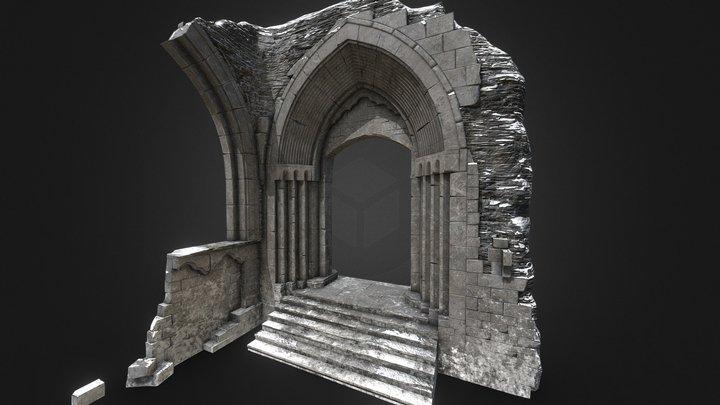 Archway [Winter] 3D Model