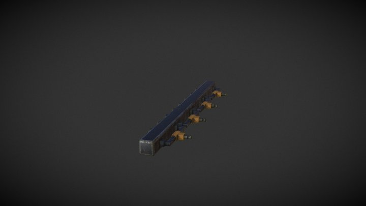 The Arcane Welder   Electro Bracket 3D Model
