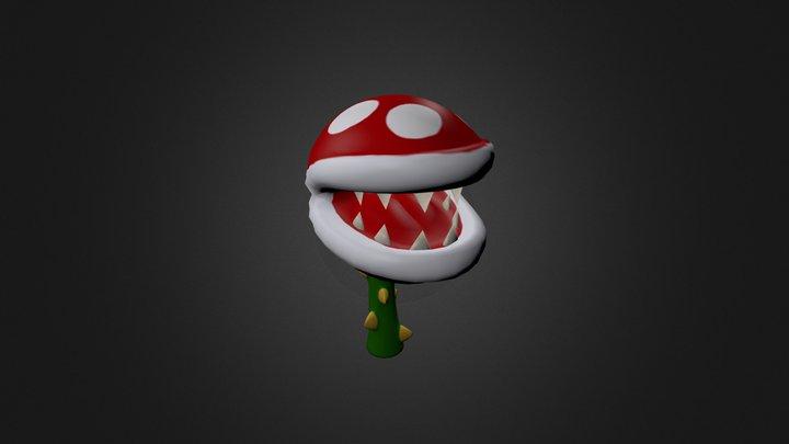 Piranhaplant 3D Model