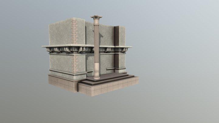 Wall2 3D Model