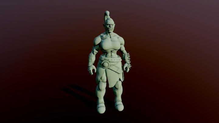 She-Orc 3D Model