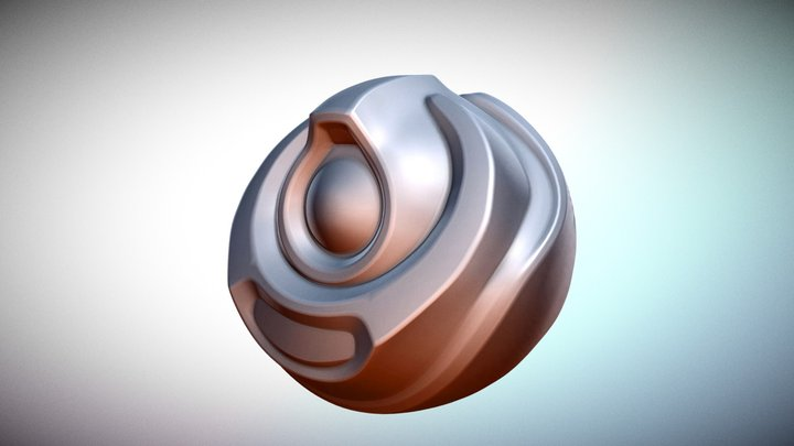 Completing The Robo- Orb Retopology 3D Model