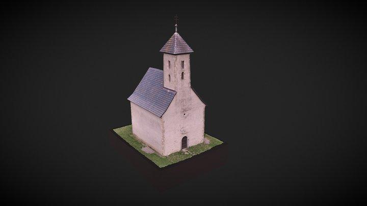 St. John the Baptist church-Pominovec, Slovakia 3D Model