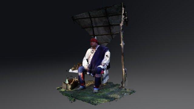 Jason Jones, Yuchi. 3D Model