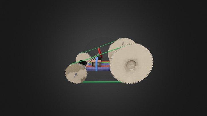Ultimate Workshop Racer Vehicule v2 3D Model