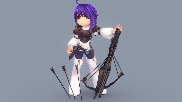 Mo 3D Model
