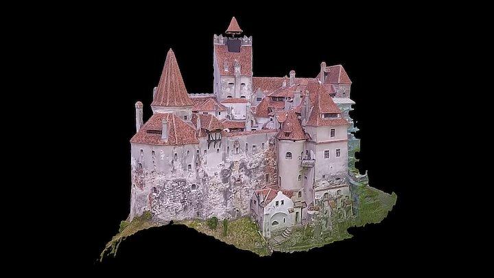 Bran Castle - Romania 3D Model