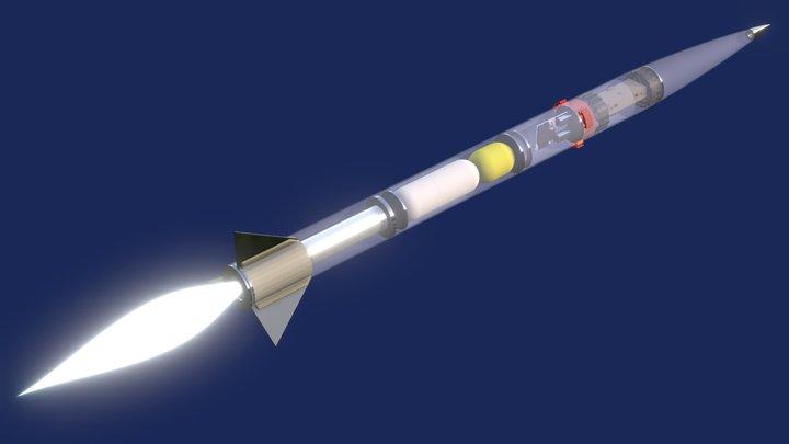 2018 NASA Rocket (PDR) 3D Model